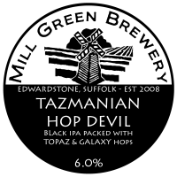 Mill Green Brewery Tazmanian Hop Devil