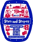 C15724 BCB Stars and Stripes Clip with Bleed